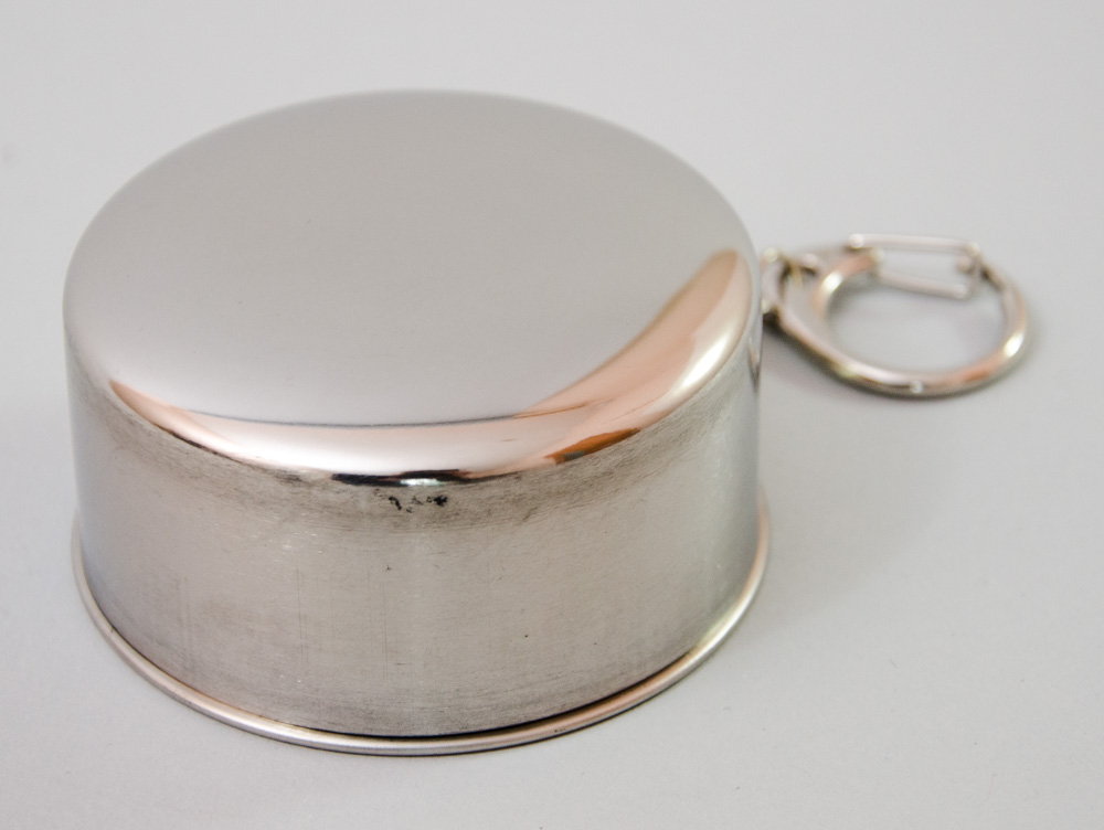 Рюмка раскладная, металлическая, сувенирная