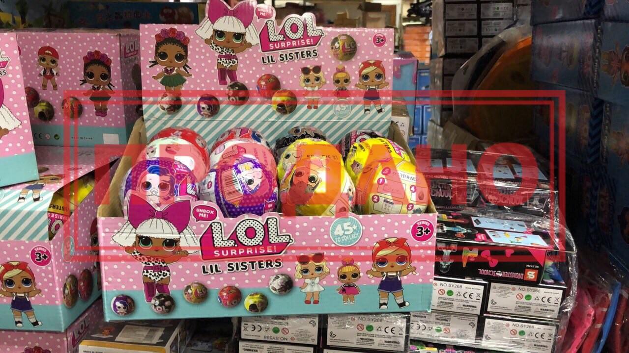 Кукла LOL d7см