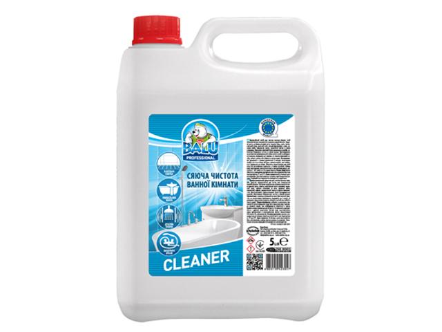 Професійний засіб для миття сантехніки та кераміки BALU CLEANER 5 л/пт