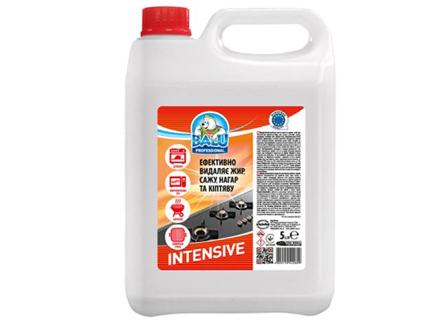 Професійний засіб для миття кухні та грилю BALU INTENSIVE 5 л/пт