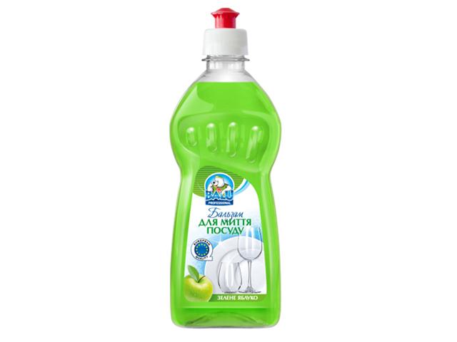 Бальзам для миття посуду BALU Зелене яблуко 500 мл/пет