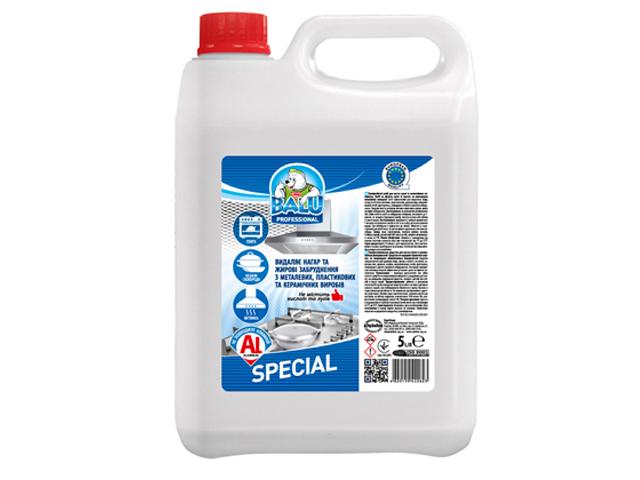 Професійний засіб для миття кухні та алюмінієвих поверхонь BALU SPECIAL 5 л/пт