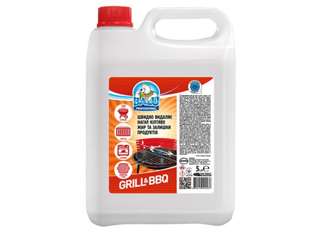 Професійний засіб для миття кухні та грилю BALU GRILL & BBQ 5 л/пт