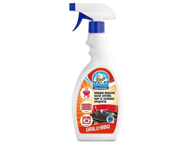 Професійний засіб для миття кухні та грилю BALU GRILL & BBQ 550 мл