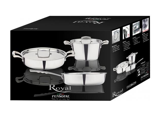 Набор посуды 5 предметов PENSOFAL PEN5908 Royal