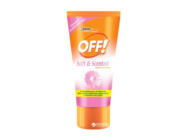 Крем от комаров OFF! Soft & Scented (50 мл)