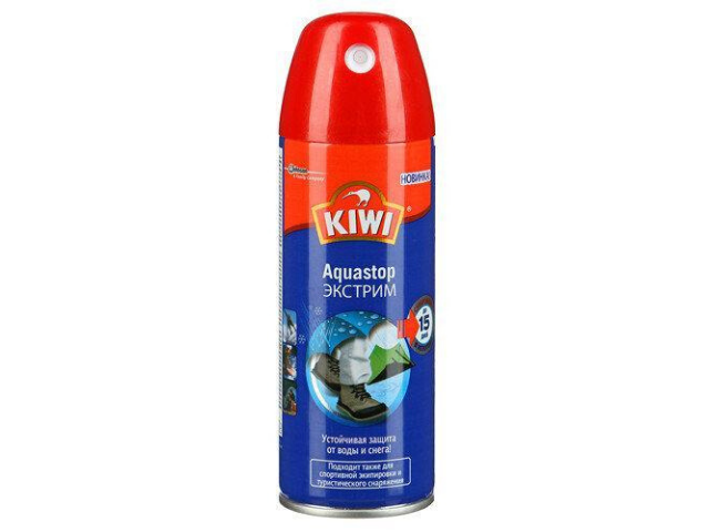 Водоотталкивающий спрей для обуви KIWI (200 мл)