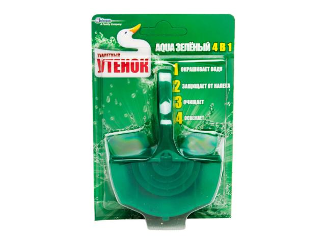 Подвесной блок для унитаза Туалетный Утенок Aqua 4 в 1