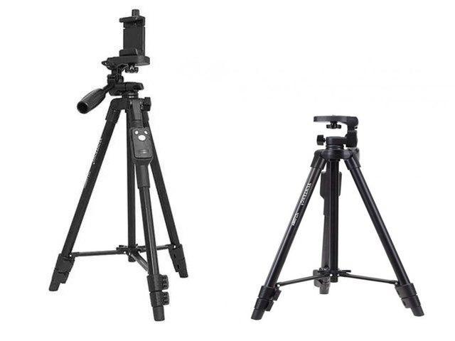 Штатив телескопический с пультом Yunteng VCT 5208