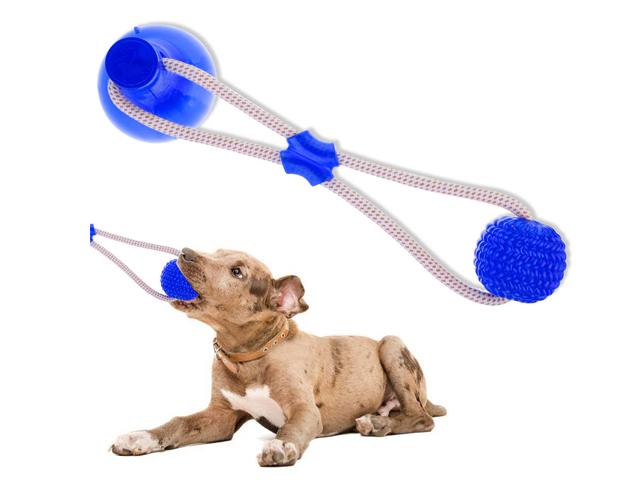 Игрушка для домашних животных на присоске DOG TOY ROPE