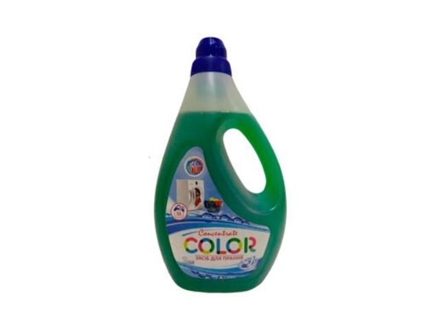 Средство для стирки Color 2л  концентрат ICE BLIK