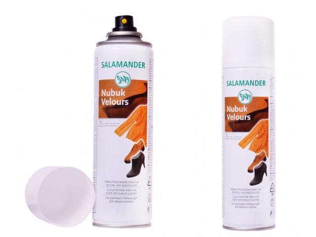 Аэрозоль Salamander Nubuck Velours 001 нейтральный 250 ml