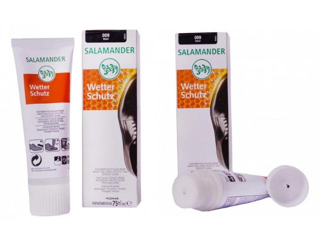Крем для обуви Salamander Wetter Sсhutz 75 ml Чёрный 009