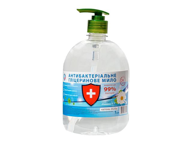 Жидкое мыло АНТИБАКТЕРІАЛЬНЕ 1л Ромашка ТМ ICE BLIK