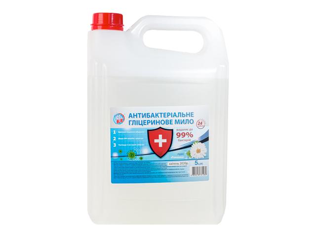 Жидкое мыло АНТИБАКТЕРИАЛЬНОЕ 5л Ромашка ТМ ICE BLIK