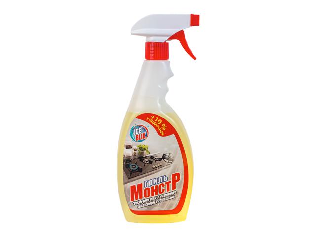 Гриль монстр средство для мытья кухонного инвентаря и приборов 0,5л ТМ ICE BLIK