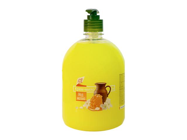 Жидкое крем-мыло 1л МОЛОКО МЕД ТМ ICE BLIK