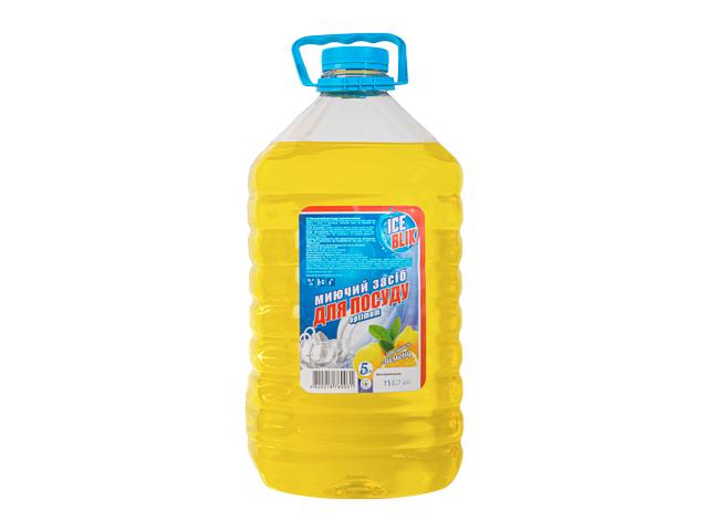 Моющее для Посуды Optimum 5л Лимон ТМ ICE BLIK