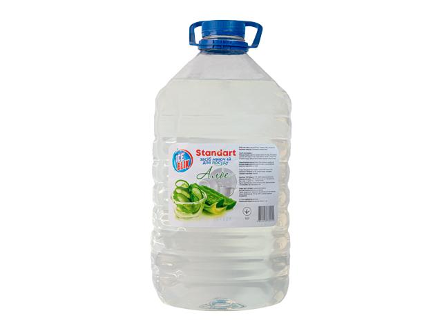 Моющее для Посуды бальзам Standart 5л АЛОЭ (бутылка) ТМ ICE BLIK