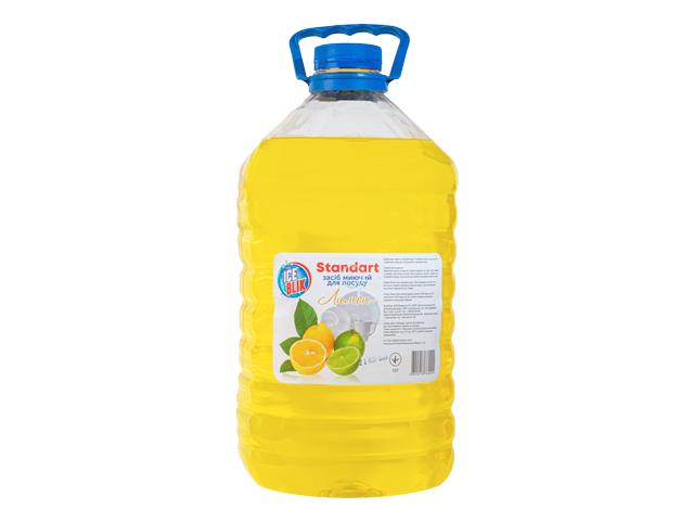 Моющее для Посуды Standart 5 л Лимон ТМ ICE BLIK