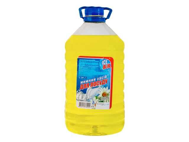Моющее для Посуды Standart 5л Ромашка ТМ ICE BLIK