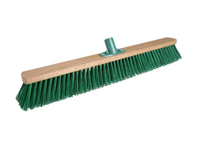Щетка для улицы 600 мм Зеленый РЕТ с пластмассовым креплением
