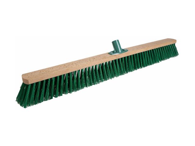 Щетка для улицы 1000 мм Зеленый РЕТ с пластмассовым креплением