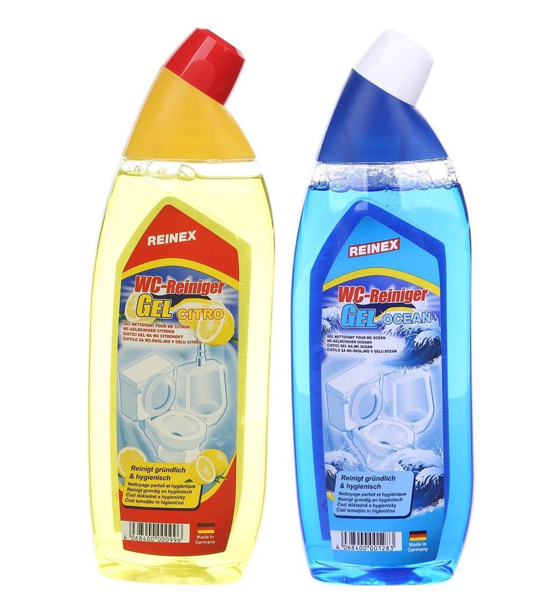 Средство очистки и дизинфекции для унитазов и писсуаров Reinex WC-Reiniger Gel 750 мл