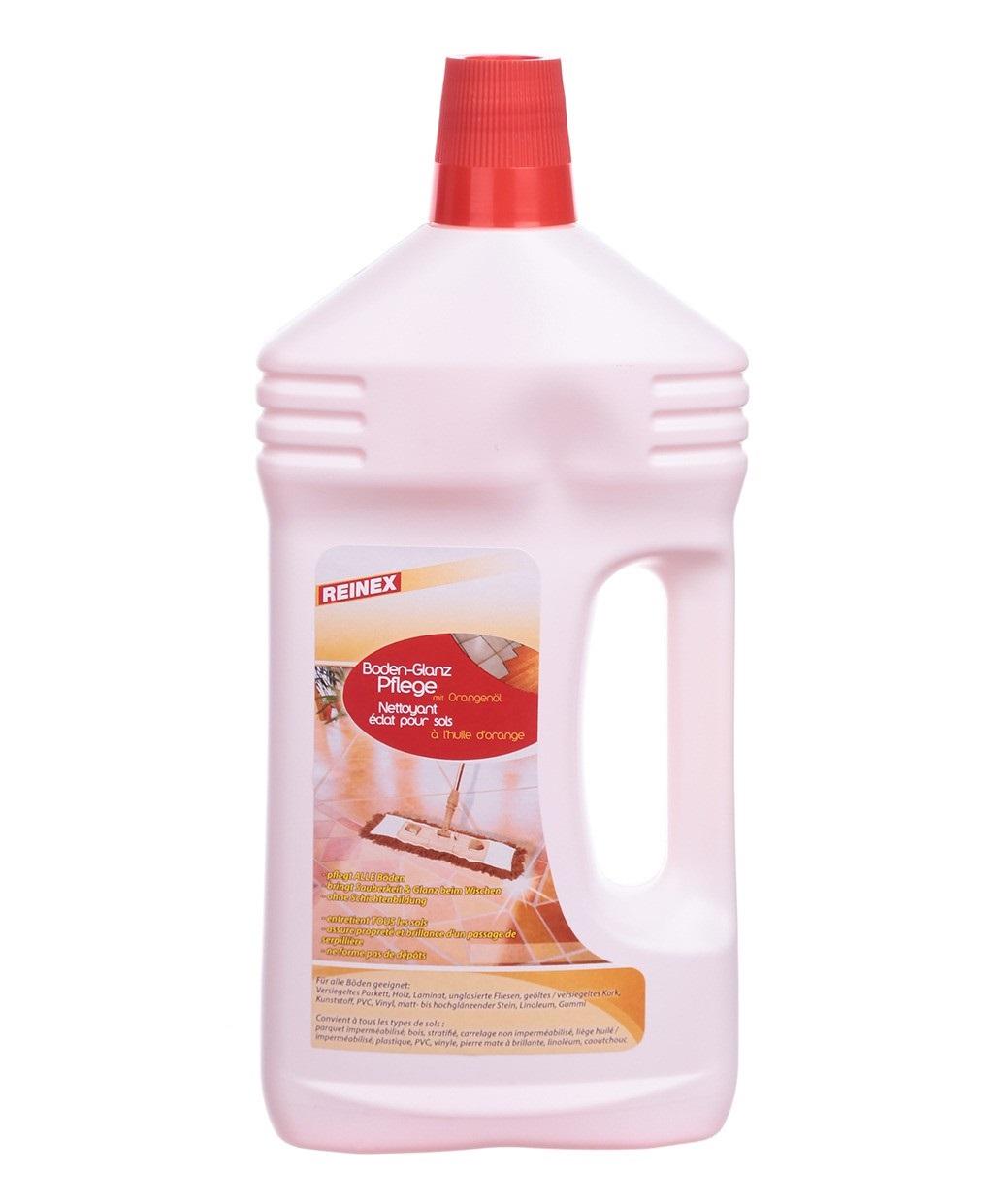 Средство для мытья пола Суперблеск с маслом Апельсина Reinex Bodenglanzpflege 1000 мл (4068400001290)
