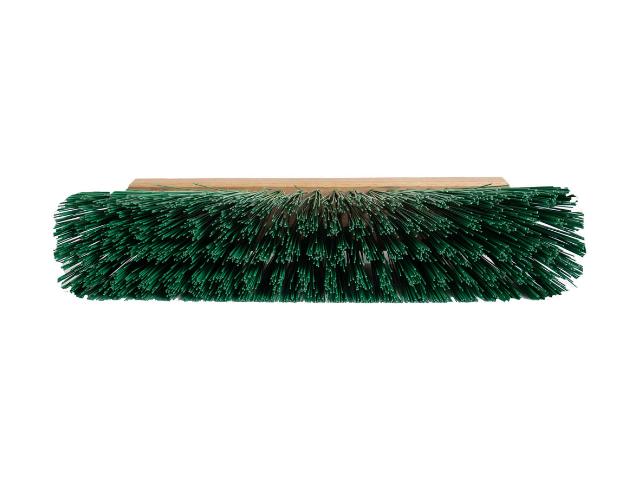 Щетка для улицы 300 мм Зеленый РЕТ с пластмассовым креплением