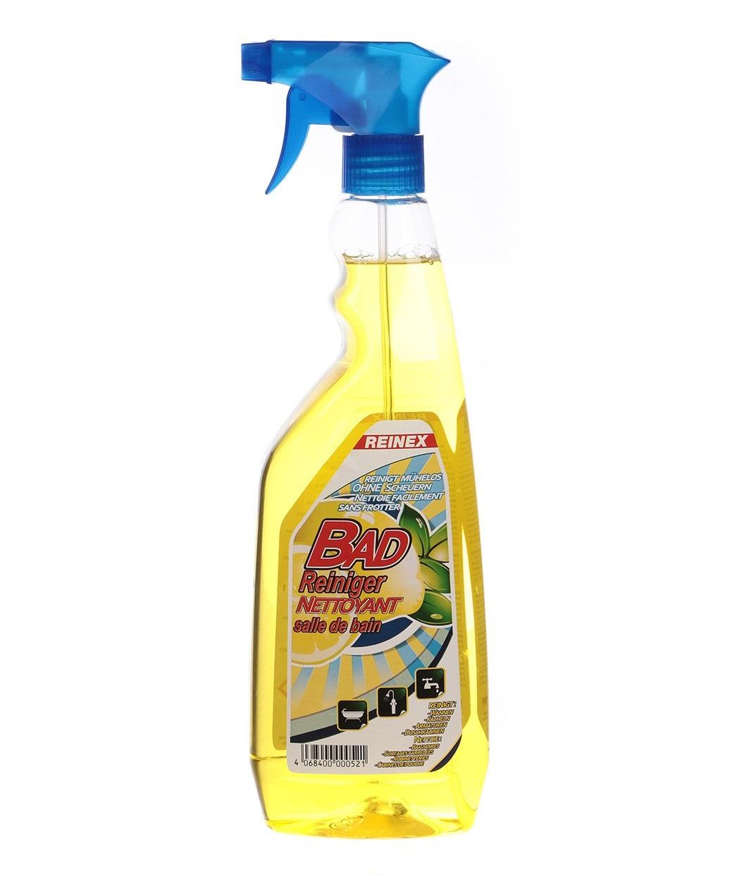 Чистящее средство для ванн, душевых кабин, сантехники и плитки Reinex Badreiniger 750 мл (4068400000521)