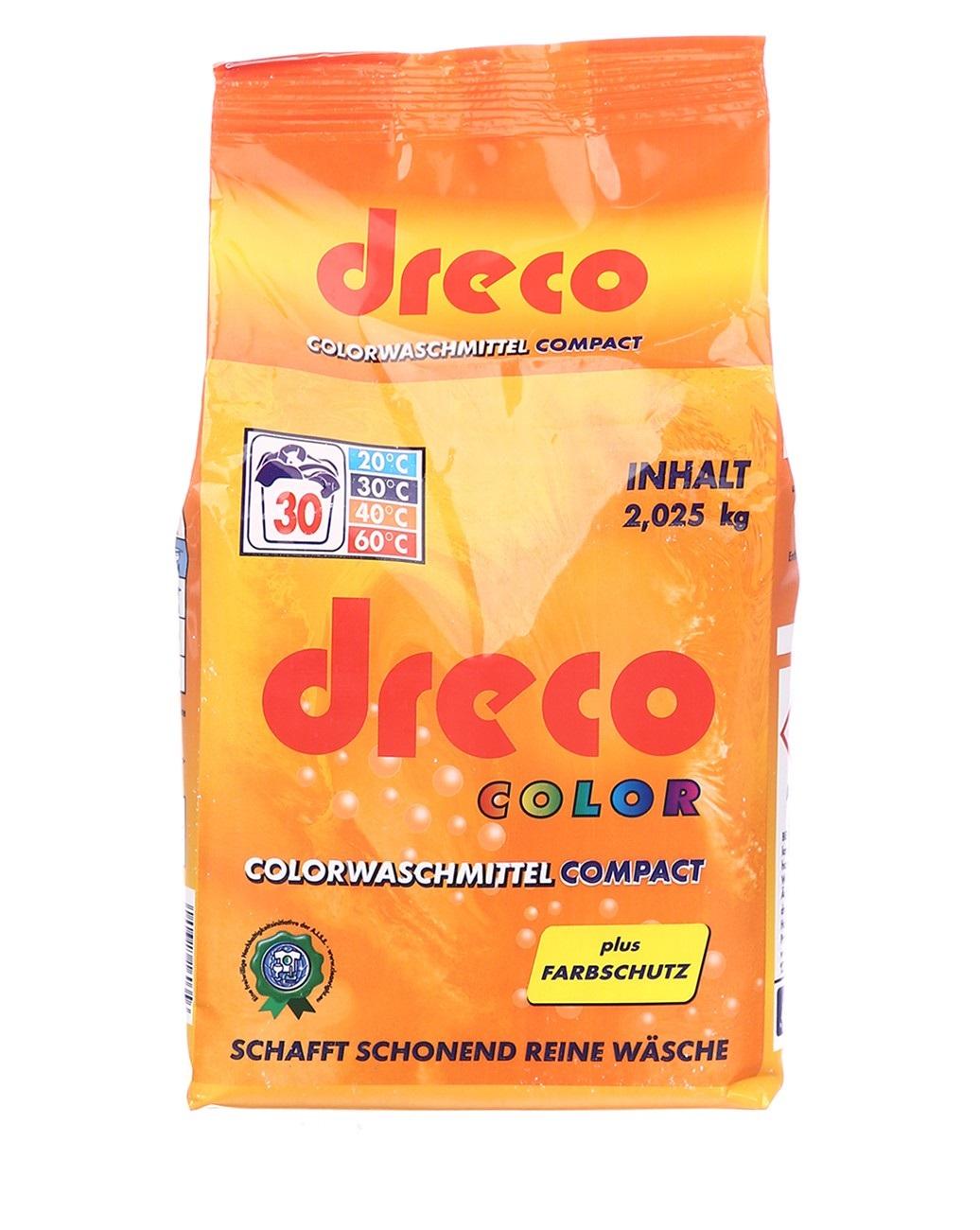 Стиральный порошок для стирки концентрированный Dreco 2,025 кг 30 стирок