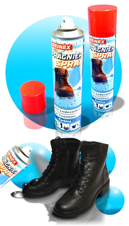 Водоотталкивающая пропитка для всех видов кожи и текстиля бесцветная 400 мл Reinex Imprägnierspray (4068400010148)