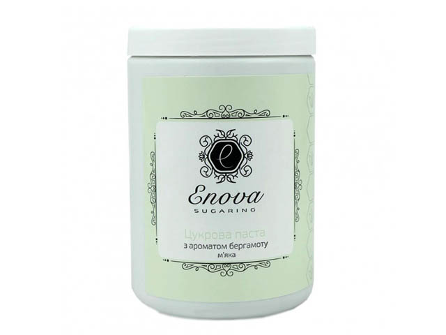 Сахарная паста для эпиляции Enova мягкая (зеленая) с ароматом бергамота 1400 гр