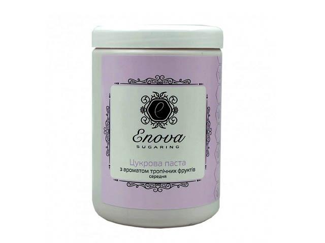 Сахарная паста для эпиляции Enova средняя ( розовая) с ароматом тропических фруктов 1400 гр