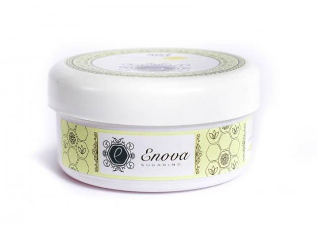 Сахарная паста для эпиляции Enova супер-мягкая (желтая) с ароматом лимона и лайма 250 гр