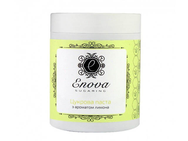 Сахарная паста для эпиляции Enova супер-мягкая (желтая) с ароматом лимона и лайма 700 гр